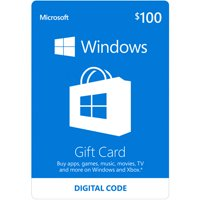 Microsoft Windows Store Gift Card $100 (Digital Code)