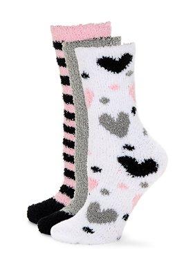 Betsey Johnson 3pk Cozy Sock Gift Box