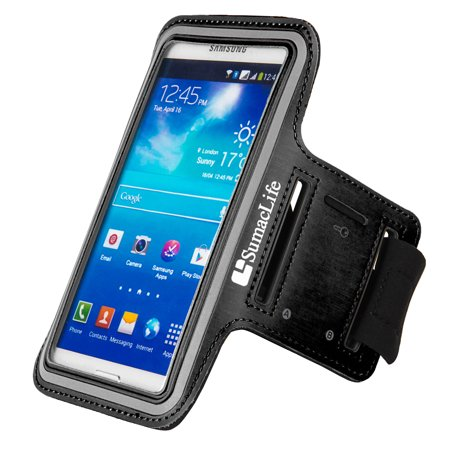 Premium SUMACLIFE Neoprene Workout universal armband Case fits Apple iPhones up to 5.75 x 3 Inches