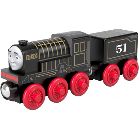 Wood Wooden Train - Thomas & Friends Wood Hiro Wooden Steam Engine Train