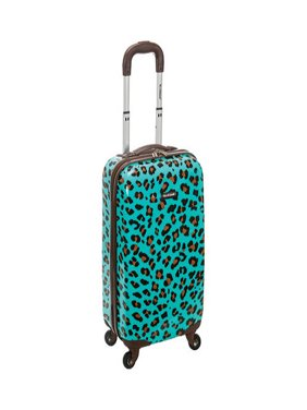 "Rockland Luggage 20"" Hard Sided Spinner Carry On Luggage F191"