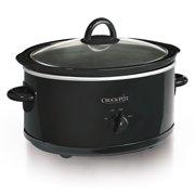 Crock-Pot Manual Slow Cooker, 7-Quart, Black (SCV700-B2)