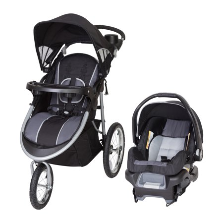 Baby Trend Pathway 35 Jogger Travel System-Optic - Baby Jogger Elite Single