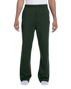 Jerzees Adult 8 oz. NuBlend® Open-Bottom Fleece Sweatpants