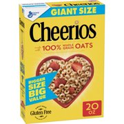 (2 Pack) Cheerios Gluten Free Breakfast Cereal, 20 oz Box