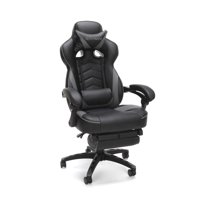 RESPAWN-110 Racing Style Gaming Chair - Reclining Ergonomic Leather Chair with Footrest, Office or Gaming Chair, Multiple Colors - RESPAWN by OFM