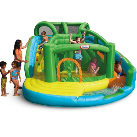 Little Tikes 2-in-1 Wet 'n Dry Waterslide and Bouncer Only $384.31 (Was $600)