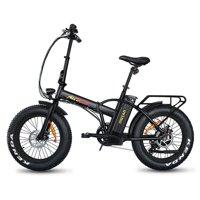 "Addmotor MOTAN Electric Bicycle 20"" Fat Tire Folding E-Bikes 500W 48V Mountain Beach Snow Bike M-150 Collapsible Bike"