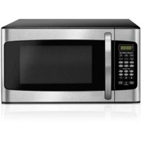 Hamilton Beach 1.1 Cu. Ft. Microwave Oven, Stainless Steel