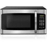 Hamilton Beach 1.1 Cu. Ft. Microwave Oven, Stainless Steel
