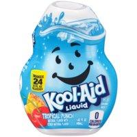 (12 Pack) Kool-Aid Tropical Punch Liquid Drink Mix, 1.62 fl oz Bottle