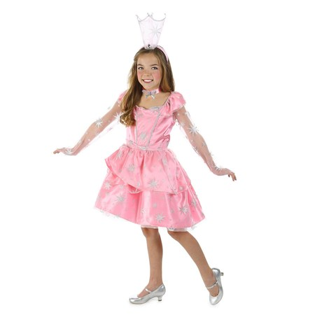 Sassy Girls The Wizard Of Oz Glinda Costume](Glinda The Good Costume)