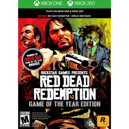 Red Dead Redemption: Game of the Year Edition, Rockstar Games, Xbox One/360, (Best Boxing Game For Xbox 360 Kinect)