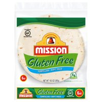 Mission Gluten Free Soft Taco Tortillas, 6 Count