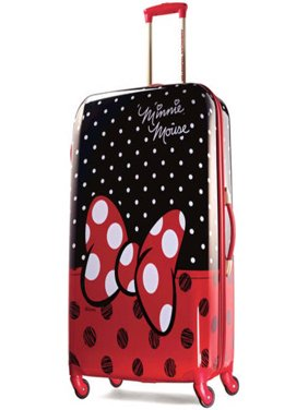 28 Disney Minnie Mouse Red Bow Hardside Spinner