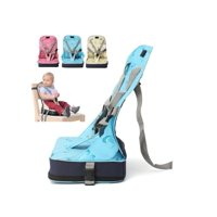 Foldable Portable High Chair Table Seat Baby Booster Adjustable Toddler Highchair Seat Home Travel