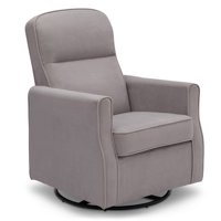 Delta Children Clair SLIM Nursery Glider Swivel Rocker Chair