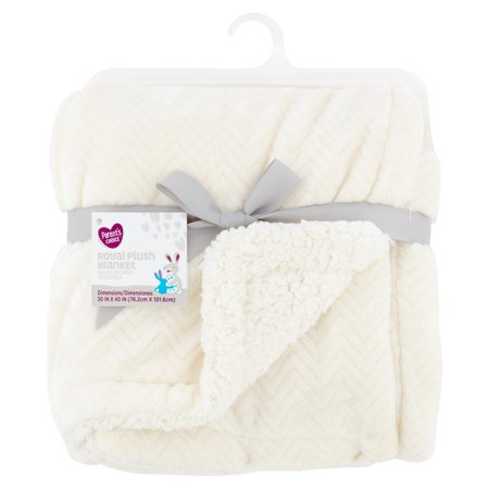 Alpaca Baby Blanket - Parent's Choice Royal Plush Blanket, Available in Multiple Colors