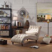 Alton Furniture Taddea Chaise Tufted Lounge Chair, Multiple Colors
