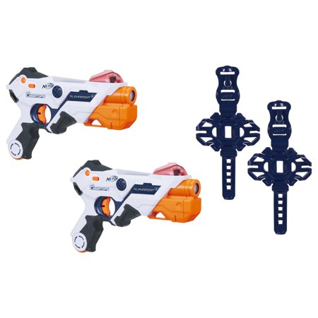 Nerf Laser Ops Alphapoint Pro (Best Nerf Gift For A 7 Year Old Boys)