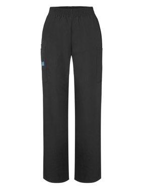 Adar Universal Natural-Rise Comfort 4 Pkt Cargo Tapered Leg Pants Petite - 503P - Black - S