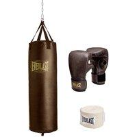 Everlast 19100800 100 lb Vintage Heavy Bag Kit