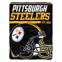 "NFL Pittsburgh Steelers ""40-Yard Dash"" 46""x 60"" Micro Raschel Throw"