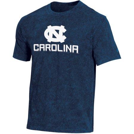 Men's Russell Navy North Carolina Tar Heels Classic Fit Enzyme Wash T-Shirt Champion North Carolina Tar Heels