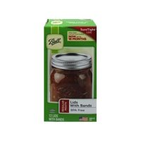 Ball Regular Mouth Jar Lids and Bands, 12 Count