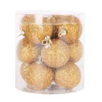 Nicesee 12pcs Christmas Tree Hanging Baubles Balls Xmas Ornaments Home Decor