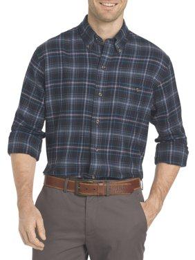 Men's Saranac Flannel Long-Sleeve Button-Down Shirt