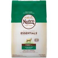 NUTRO WHOLESOME ESSENTIALS Adult Dry Dog Food Pasture-Fed Lamb & Rice Recipe, 15 lb. Bag