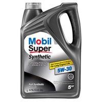 Mobil Super Synthetic 5W-30, 5qt