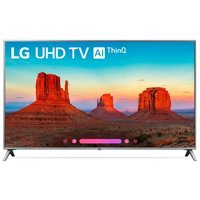 "Refurbished LG 55"" Class 4K HDR Smart LED AI UHD TV w/ThinQ - 55UK6500AUA"