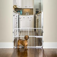 Carlson Pet Products Lil Tuffy Pet Gate, Metal