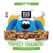 (2 Pack) Blue Dog Bakery Healthy Treats for Dogs Perfect Trainers Grilled Chicken & Cheese Flavor, 6oz