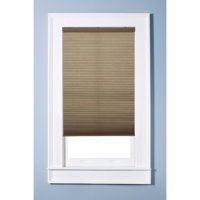 "Arlo Blinds Single Cell Light Filtering Cocoa Brown Cordless Cellular Shades,64""Wx60""H"