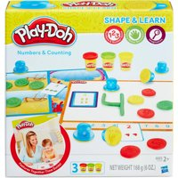 Play-Doh Shape & Learn Numbers & Counting Set with 3 Cans of Play-Doh
