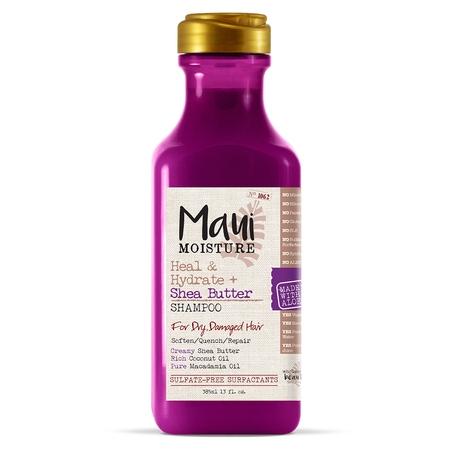 Alcohol Free Shampoo - Maui Moisture Heal & Hydrate + Shea Butter, Shampoo, 13 FL OZ