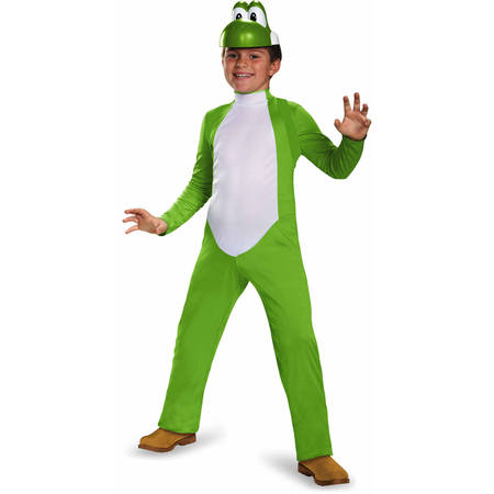 Super Mario Bros. Boys' Yoshi Deluxe Costume - Mario Costume For Women