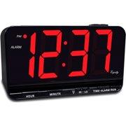 """Equity 3"""" LED Alarm Clock"""