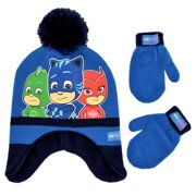 1eeb1a9b432bd PJ Masks Hat and Mittens Cold Weather Set