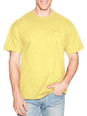 Men's Premium Beefy-T Short Sleeve T-Shirt With Pocket, Up to Size 3XL