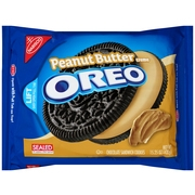 (3 Pack) Oreo Cookies, Peanut Butter Crème, 15.25 Oz