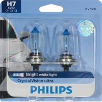 Philips CrystalVision Ultra Headlight H7, Pack of 2