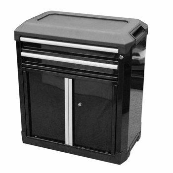 Tactix Modular Storage 2-Drawer 2-Door Cabinet