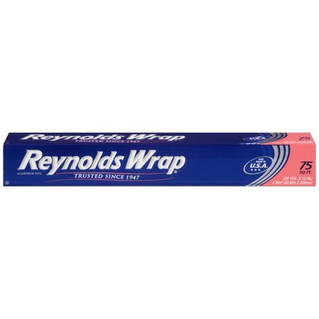 - Reynolds Wrap Aluminum Foil, 75 Square Feet