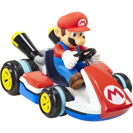 World of Nintendo Mario Kart Mini RC - Kart Radio Remote Control Car