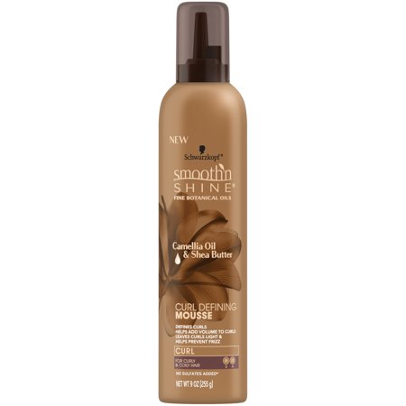 Smooth 'n Shine Curl Defining Mousse, 9 Ounce (9 Ounce Top Grain)