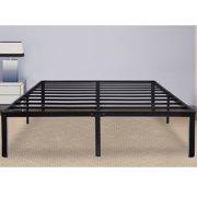 "GranRest 14"" Steel Slat Bed Frame - Queen"